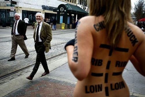 Stunt Foodists Join the Occupy Wall Street Protest Movement ...